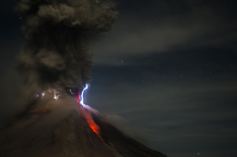 LIFE IN THE SHADOWS OF AN ERUPTING VOLCANO1