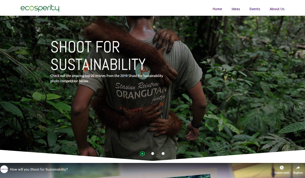 Shoot For Sustainability By National Geographic Asia And Temasekseen